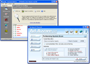 SpyBot et Ad-Aware