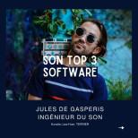 Le Top 3 Software de Jules de Gasperis @jules2g !  #software #plugin #mixingengineer…