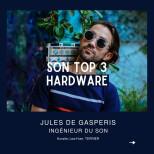 Le Top 3 hardware de Jules de Gasperis @jules2g  #top3 #hardware #mix #audiofanzine…