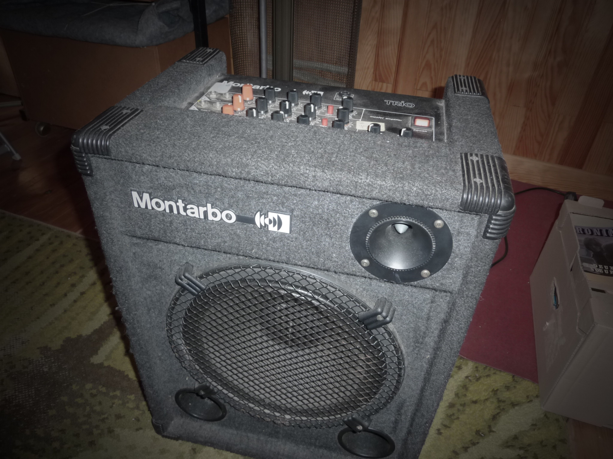 Revox1's review - Montarbo TRIO mosfet amplifier 75w - Audiofanzine