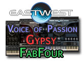 Review of FabFour, Gypsy and Voice of Passion
