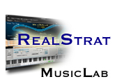 Test of MusicLab's RealStrat