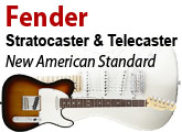 New American Standard Telecaster & Stratocaster Test
