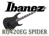 Ibanez RG420EG-SBK: The Test