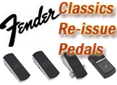 Fender Classics Re-issue Pedals: The Test