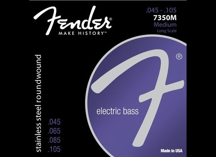 Fender 7350 Stainless Steel Roundwound Bass Strings
