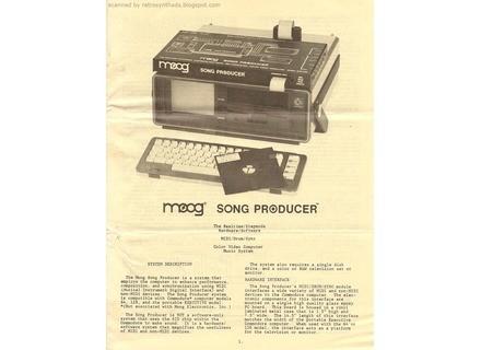 Moog Music Song Producer