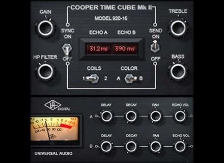 Universal Audio Cooper Time Cube Mk II,