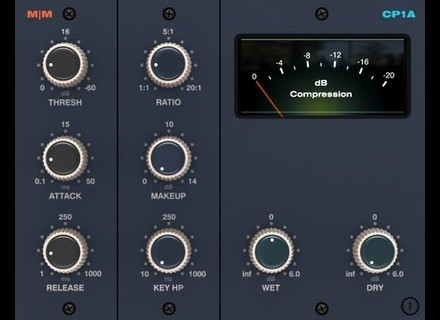 Mellowmuse CP1A Stereo Compressor