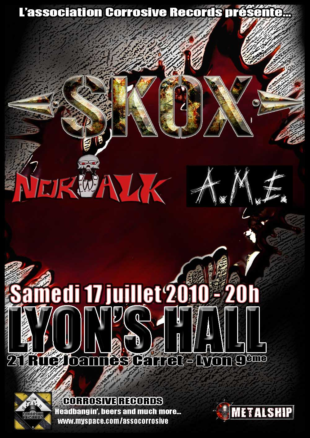 Skox @ Lyon