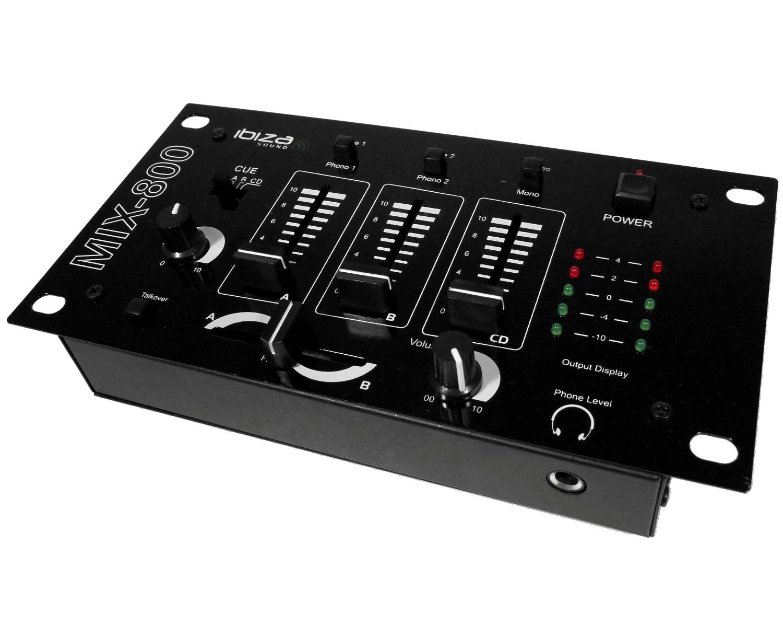 Mix 800 ibiza sound mix 800 audiofanzine - Logiciel table de mixage dj gratuit francais ...