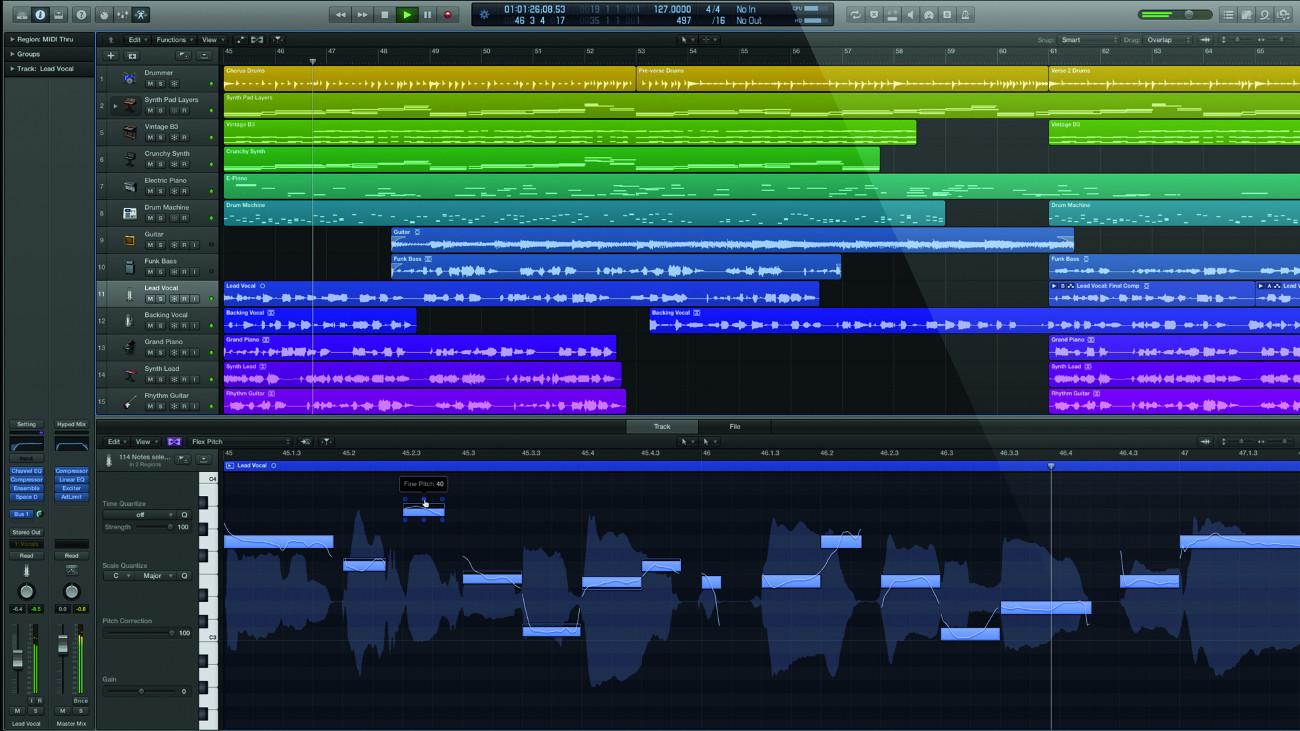 Logic Pro X Apple Logic Pro X Audiofanzine