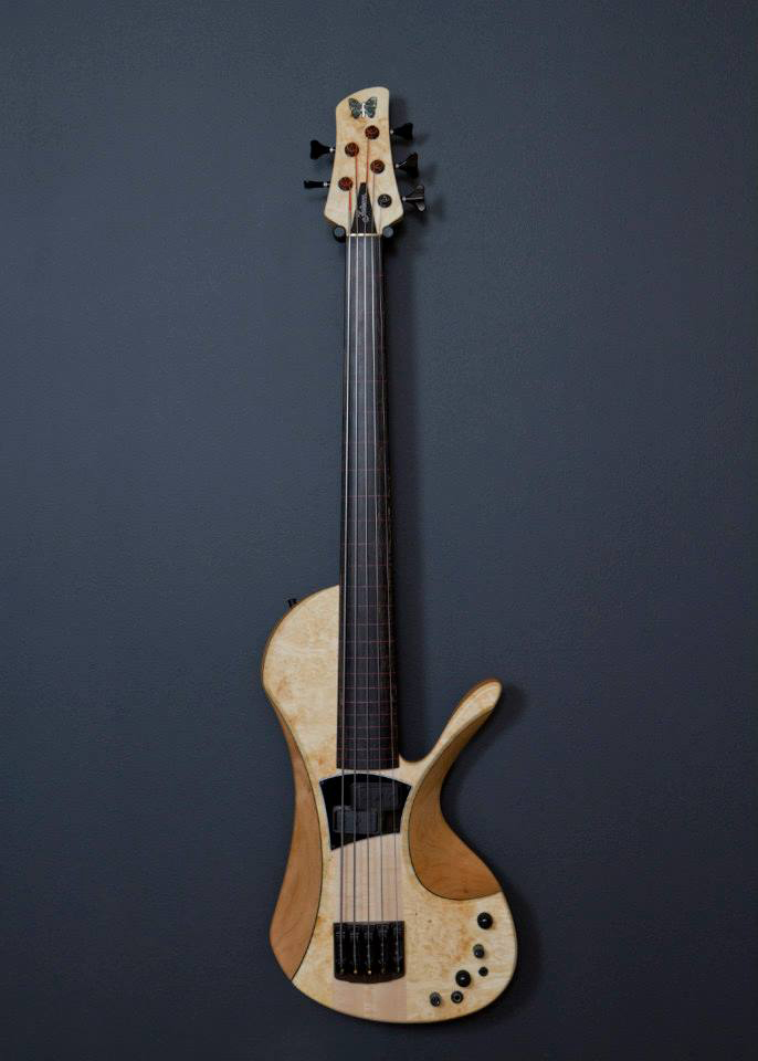 Fodera - Victor Wooten Bow Bass Image
