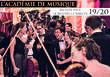 Académie de musique recrute UN CHEF ASSISTANT pour sa saison 19/20