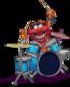 Musicien professionnel donne cours de batterie