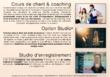 COURS DE CHANT EN VISIO & STUDIO/Enregistrez-vous en qualité pro !