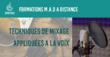 Cours collectif - Mixage et arrangement de la voix - le 17/12 à 18h30