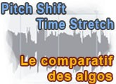 Comparatif Time Stretching et Pitch Shifting