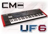 Test du clavier maître UF-6 de CME