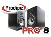 Test des enceintes Pro8 de Prodipe