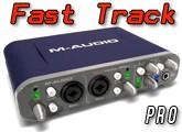 Test de la Fast Track Pro de M-Audio