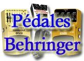 Test des pédales Behringer