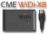 Test du WIDI-X8 de CME