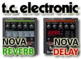 Test des Nova Delay et Nova Reverb de TC Electronic