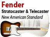 Test des Telecaster et Stratocaster New American Standard