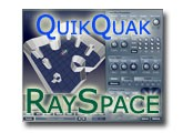 Test de RaySpace de QuikQuak
