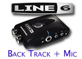 Test du BackTrack+Mic de Line 6