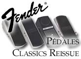 Test des pédales Classic Reissue de Fender