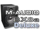 Test des enceintes BX8a Deluxe de M-Audio