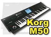 Test du Korg M50