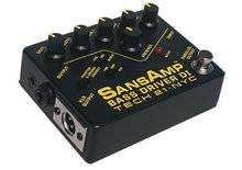 Tech 21 Sans Amp Bass Pre-Amp Stomp Box