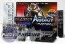 Creative Labs Audigy Platinum Sound Card