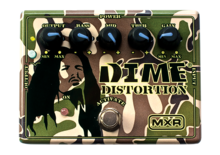 MXR DD-11 Dime Distortion Preamp Pedal