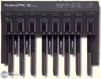 Roland PK-5 MIDI Bass Pedal Controller