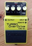 Boss Turbo Overdrive Pedal