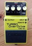 Boss Turbo Overdrive Pedal