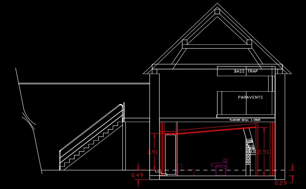 projet d 39 un studio d 39 enregistrement professionnel forum mobilier accessoires am nagement. Black Bedroom Furniture Sets. Home Design Ideas