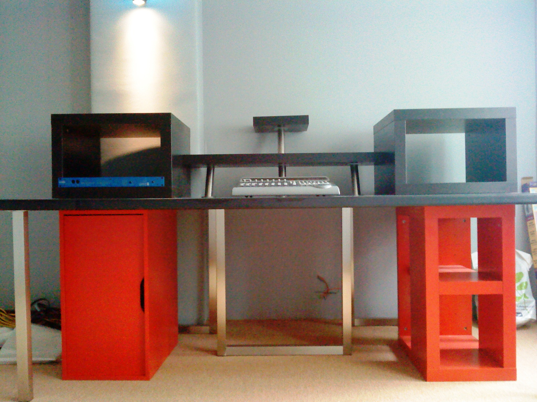 cr ation d 39 un home studio de 55m2 en image forum mobilier accessoires am nagement. Black Bedroom Furniture Sets. Home Design Ideas