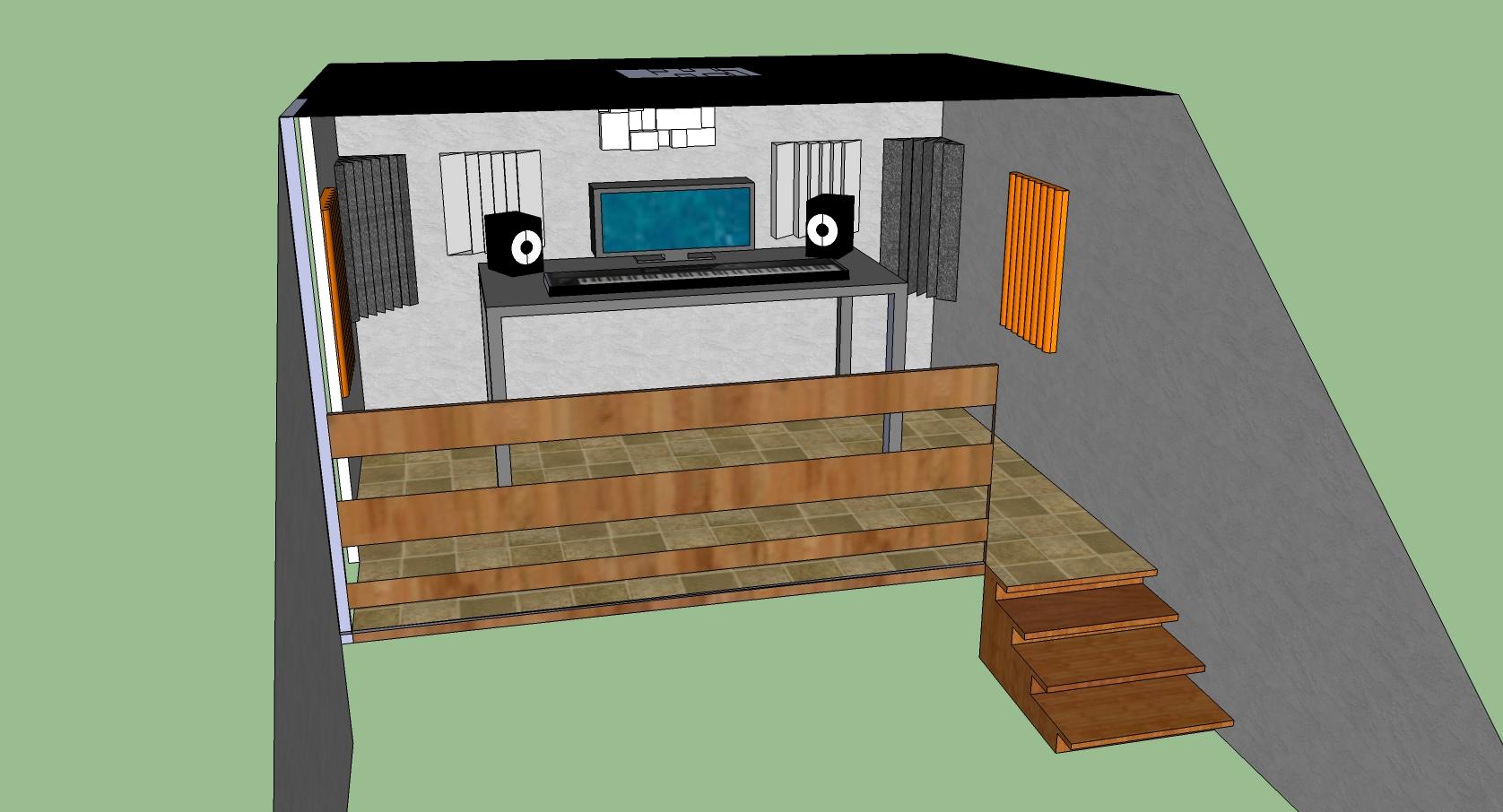 demande conseil acoustique de mon home studio forum mobilier accessoires am nagement studio. Black Bedroom Furniture Sets. Home Design Ideas