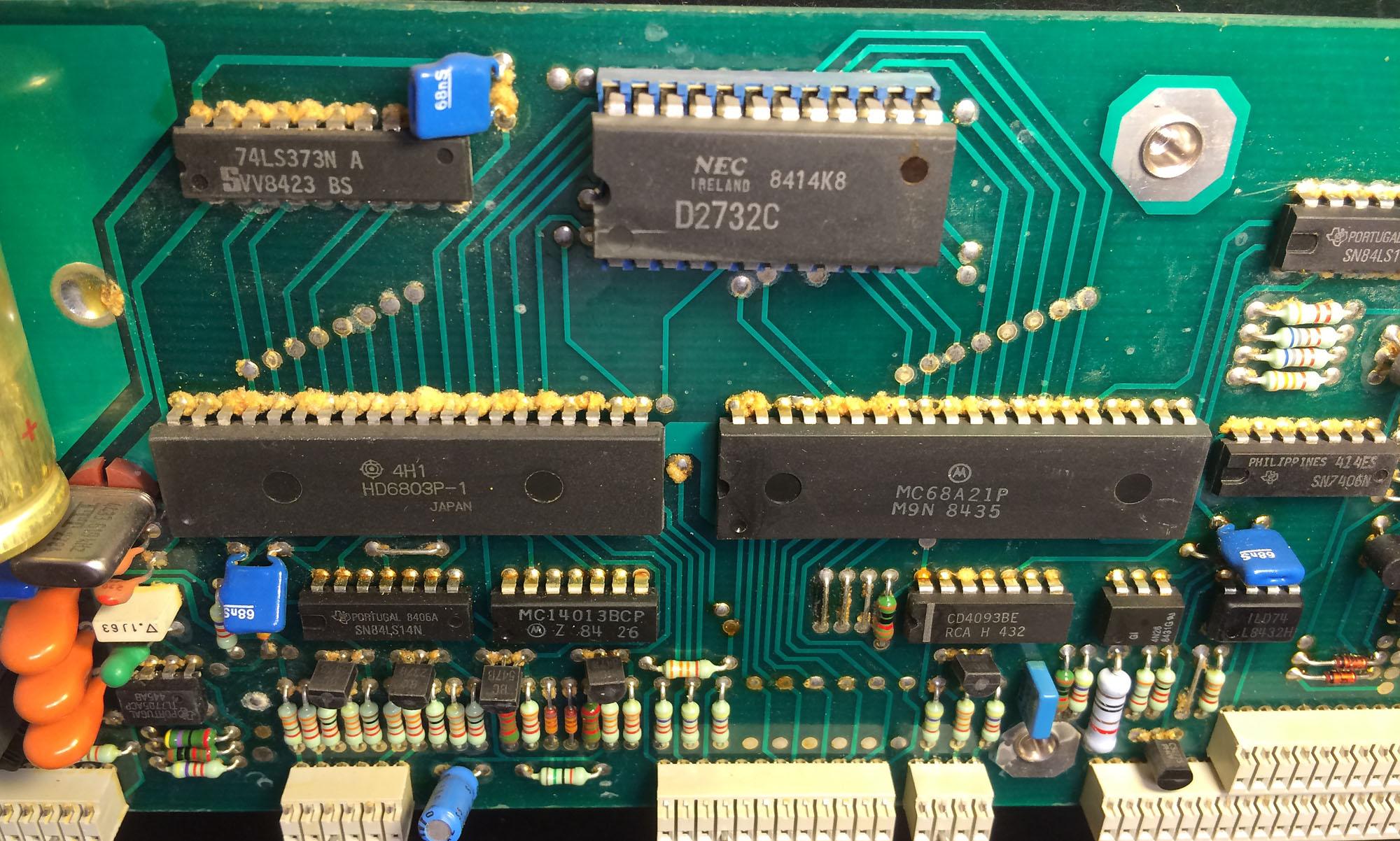Nettoyage circuit imprim forum les mains dans le - Nettoyer circuit imprime ...