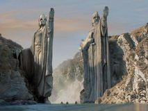 Eric Valette - Death of Gandalf - The Argonath - LOTR saga revisited