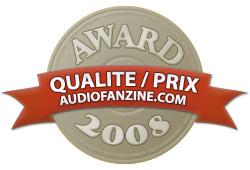 Award Qualité / Prix 2008