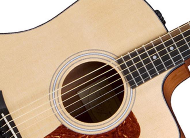 Acoustic-electric Folk/Western guitars