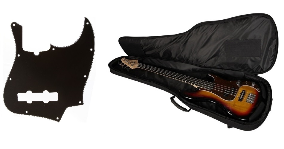 Bass guitar parts and accessories