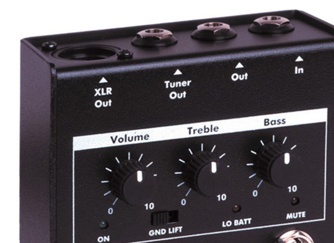Bass Pre-amps
