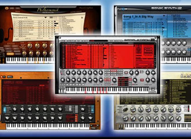 Bundles d'instruments virtuels